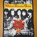 """Michael Schenker Group - Patch - Michael Schenker Group """"MSG"""" vintage printed patch"""