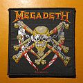 """MEGADETH """"Killing Is My Business... and Business Is Good!"""" alt' cover official patch"""