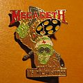 "MEGADETH ""Killing Is My Business"" 1988 official pin-back badge"