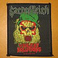 "SACRED REICH ""Violent Solutions"" original woven patch *SOLD*"