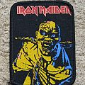 IRON MAIDEN Piece Of Mind vintage printed patch