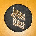 "JUDAS PRIEST ""Golden logo"" circle patch"