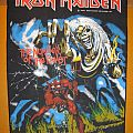 "IRON MAIDEN ""The Number Of The Beast"" 1982 original backpatch"