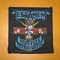 "ONLY FOR REVIEW!!! TESTAMENT ""Disciples Of The Watch"" original woven patch"