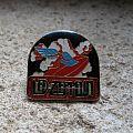 LED ZEPPELIN zeppelin & Swan Song vintage enameled pin back Pin / Badge