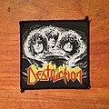 Destruction - Patch - DESTRUCTION Eternal Devastation original woven patch