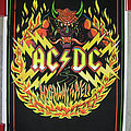 AC/DC Highway To Hell vintage black light poster Other Collectable