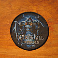 HammerFall - Patch - HAMMERFALL Threshold original circle woven patch