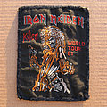 Iron Maiden - Patch - IRON MAIDEN Killer World Tour 81 original woven patch