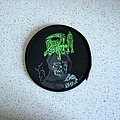 Death - Patch - DEATH Leprosy original circle patch