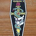 Voodoo X - Patch - VOODOO X Vol. 1 The Awakening c1990 rubber patch