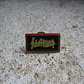 SLAYER logo vintage enameled pin