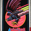 JUDAS PRIEST Screaming For Vengeance original black light poster Other Collectable