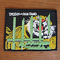Tygers Of Pan Tang - Patch - TYGERS OF PAN TANG The Cage early 80s rubber-printed patch