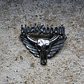 Black Sabbath - Pin / Badge - BLACK SABBATH winged skull / Heaven And Hell vintage cast pewter brooch