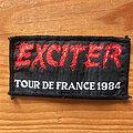 Exciter - Patch - EXCITER Tour De France 1984 original woven patch