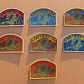 Scorpions - Patch - SCORPIONS logo c1990 rubber patches full set (?)