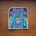 Iron Maiden - Patch - IRON MAIDEN Aces High 1980s rubber patch