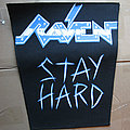 Raven - Patch - RAVEN Stay Hard original backpatch