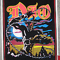 DIO Holy Diver original black light poster