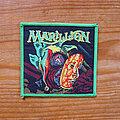 Marillion - Patch - MARILLION Market Square Heroes original woven patch (green border)
