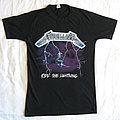 Metallica - TShirt or Longsleeve - METALLICA Ride The Lightning European Tour 1984 original t-shirt