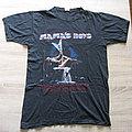 MAMA'S BOYS Power And Passion World Tour 1985 original t-shirt