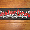 Motörhead - Patch - MOTÖRHEAD March Or Die official woven strip patch (2010)
