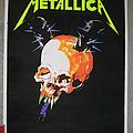 METALLICA Master Of Puppets / Damage, Inc. original black light velvet poster Other Collectable