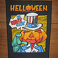 Helloween - Patch - HELLOWEEN I Want Out original backpatch