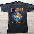 DEF LEPPARD original Pyromania / Eurotour 1983 t-shirt