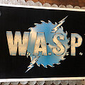 W.A.S.P. - Other Collectable - W.A.S.P. buzzsaw logo original black light poster