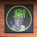 Death - Patch - DEATH Leprosy woven patch (square with green circle version)