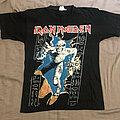 Iron Maiden - TShirt or Longsleeve - IRON MAIDEN Powerslave / mummy official 1990s t-shirt