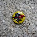 Judas Priest - Pin / Badge - JUDAS PRIEST Screaming For Vengeance vintage prismatic button