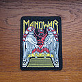 Manowar - Patch - MANOWAR Battle Hymns 1980s rubber patch