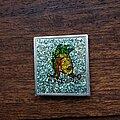Marillion - Pin / Badge - MARILLION Punch And Judy original glittery pin