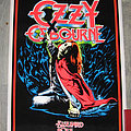 OZZY OSBOURNE Blizzard Of Ozz original black light poster Other Collectable