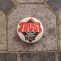 Trust - Pin / Badge - TRUST bulldozer original button