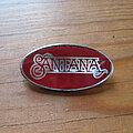 Santana - Pin / Badge - SANTANA logo vtg Clubman pin