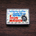 Iron Maiden - Pin / Badge - IRON MAIDEN Monsters Of Rock 1980s prismatic pin
