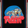 RATT mechanical rat original black light poster