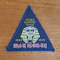 IRON MAIDEN World Slavery Tour 1984 1985 original woven patch