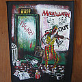 "Marillion - Patch - MARILLION ""Stage Exit"" 1980s backpatch"