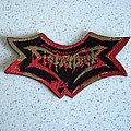 DISMEMBER Indecent & Obscene original die-cut logo patch