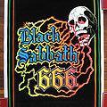 BLACK SABBATH 666 original black light poster