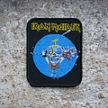 Iron Maiden - Patch - IRON MAIDEN Can I Play With Madness vintage printed patch