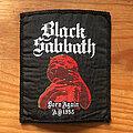 Black Sabbath - Patch - BLACK SABBATH Born Again AD 1983 original woven patch