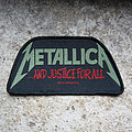 METALLICA ...And Justice For All lettering original woven patch