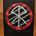 Skid Row - Patch - SKID ROW Slave To The Grind / barb wire original backpatch